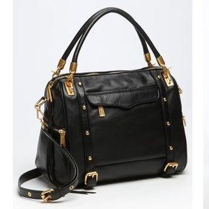 Rebecca Minkoff Cupid Satchel Black Leather bag